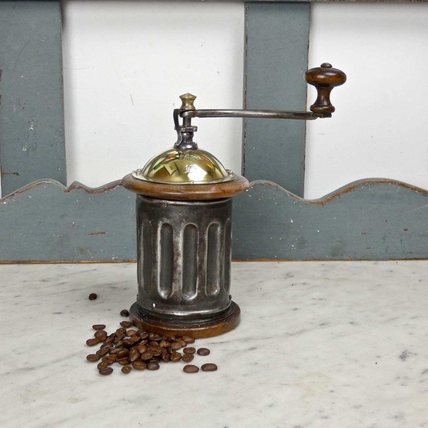 Peugeot, tin coffee mill