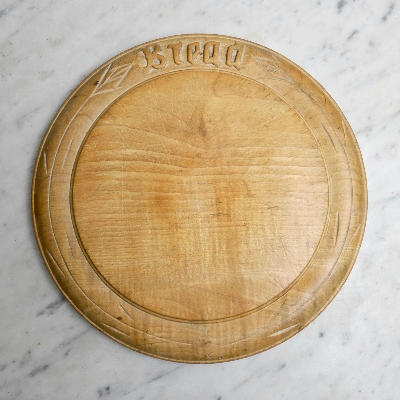 Victorian beechwood breadboard