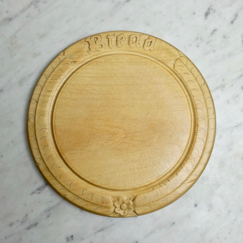 Victorian sycamore breadboard