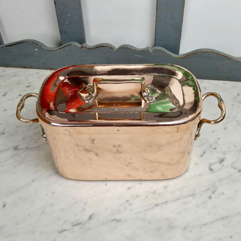 Letang copper casserole