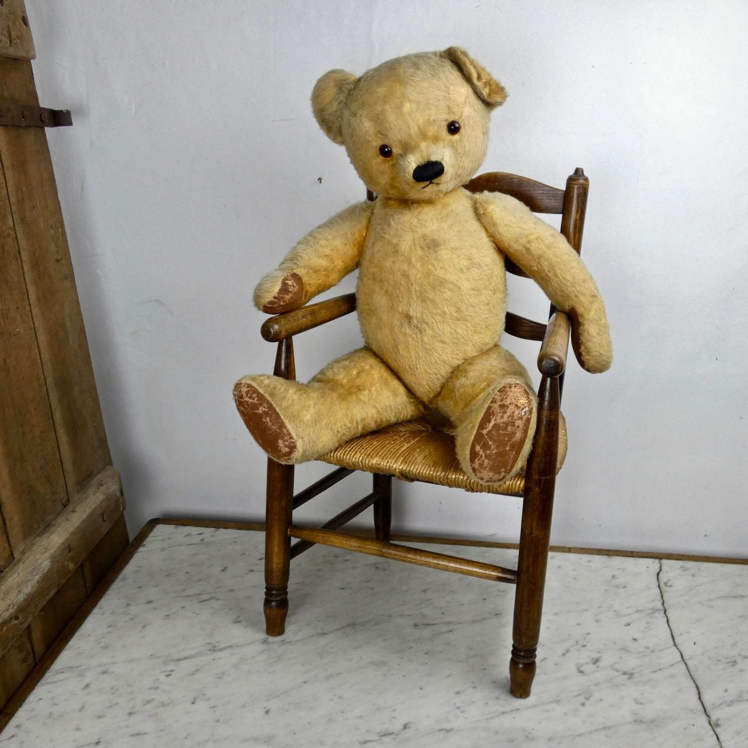 Large, 1950's teddy bear