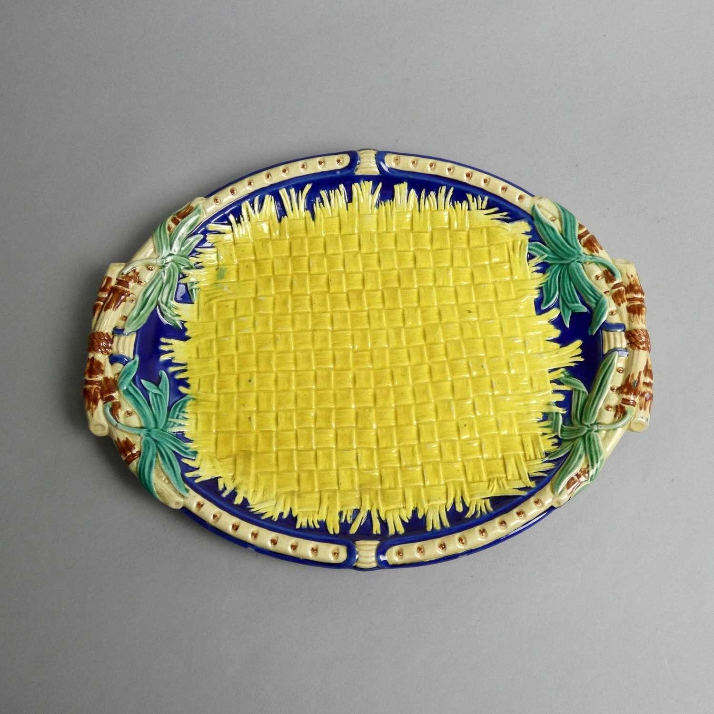 Wedgwood majolica bread plate