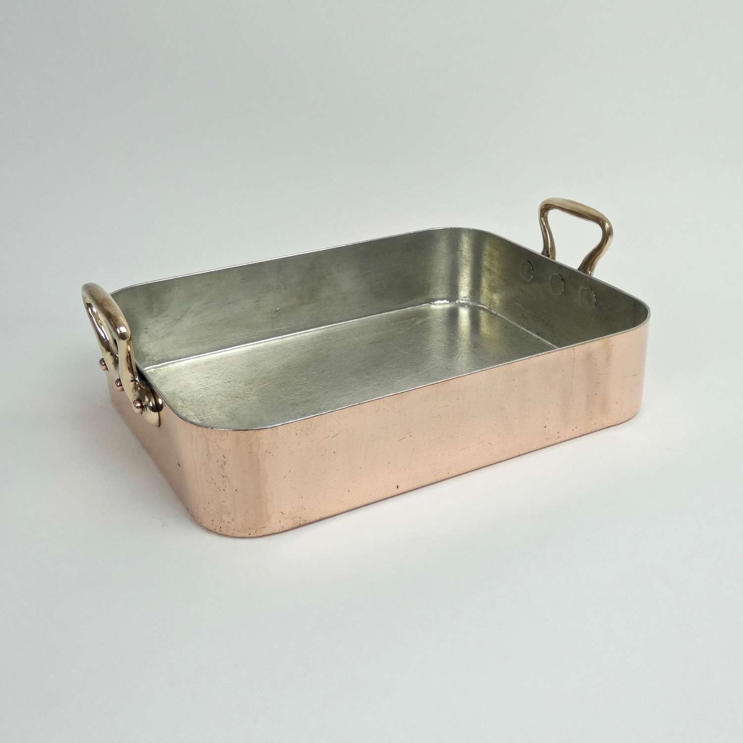 Quality copper roasting pan