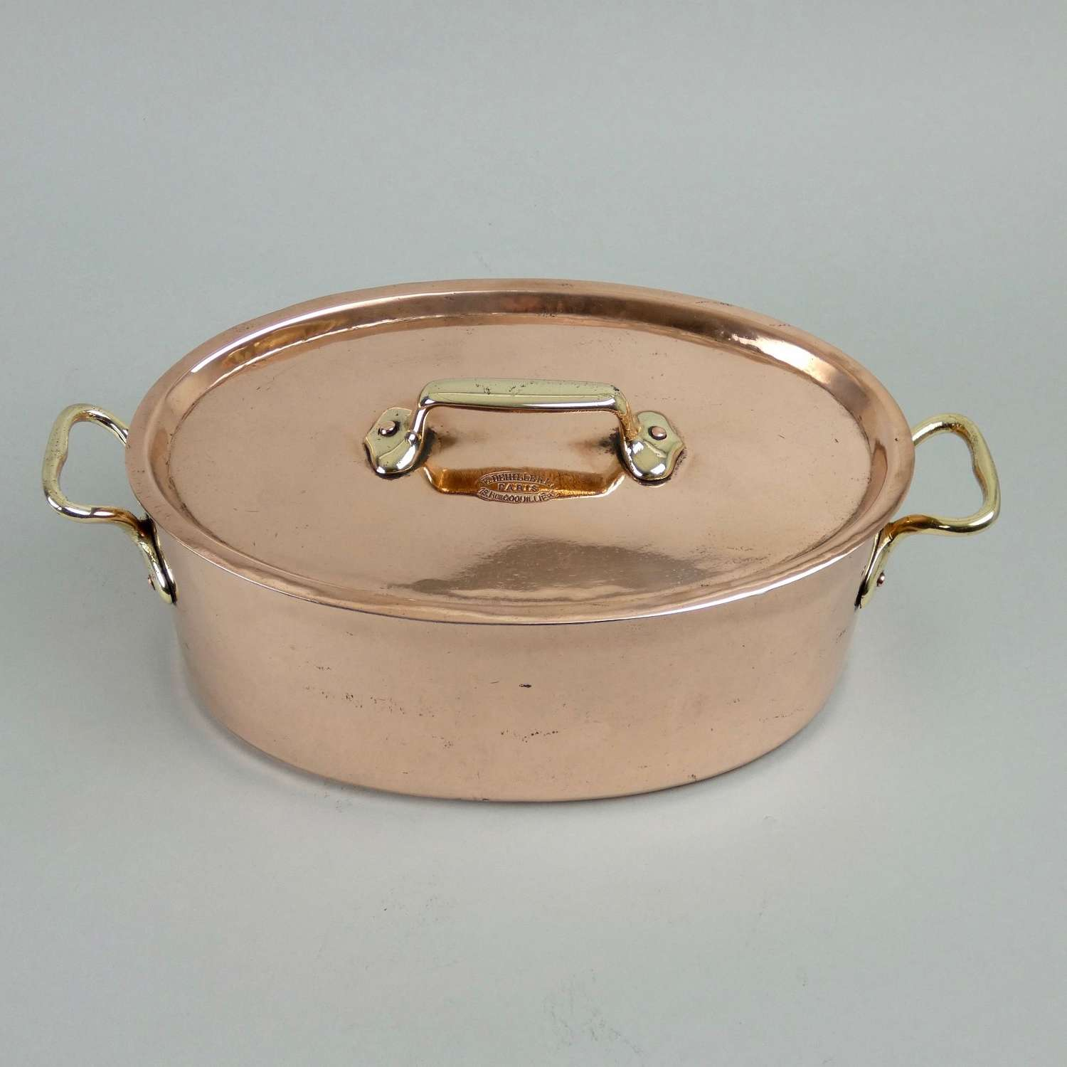 Small 'Dehillerin' copper casserole