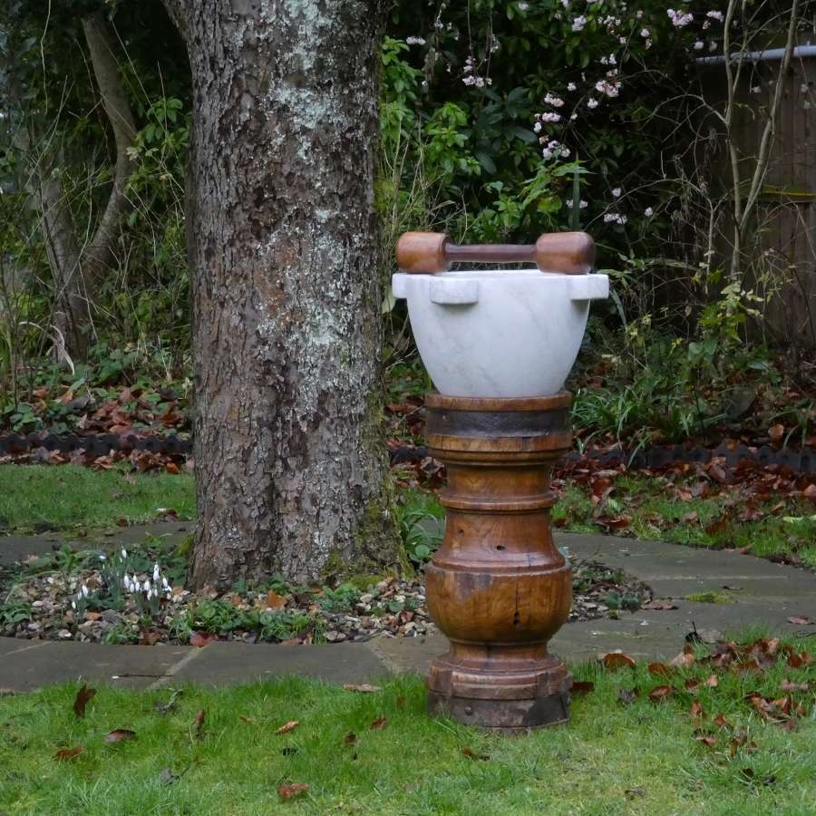 Fabulous court mortar with stand