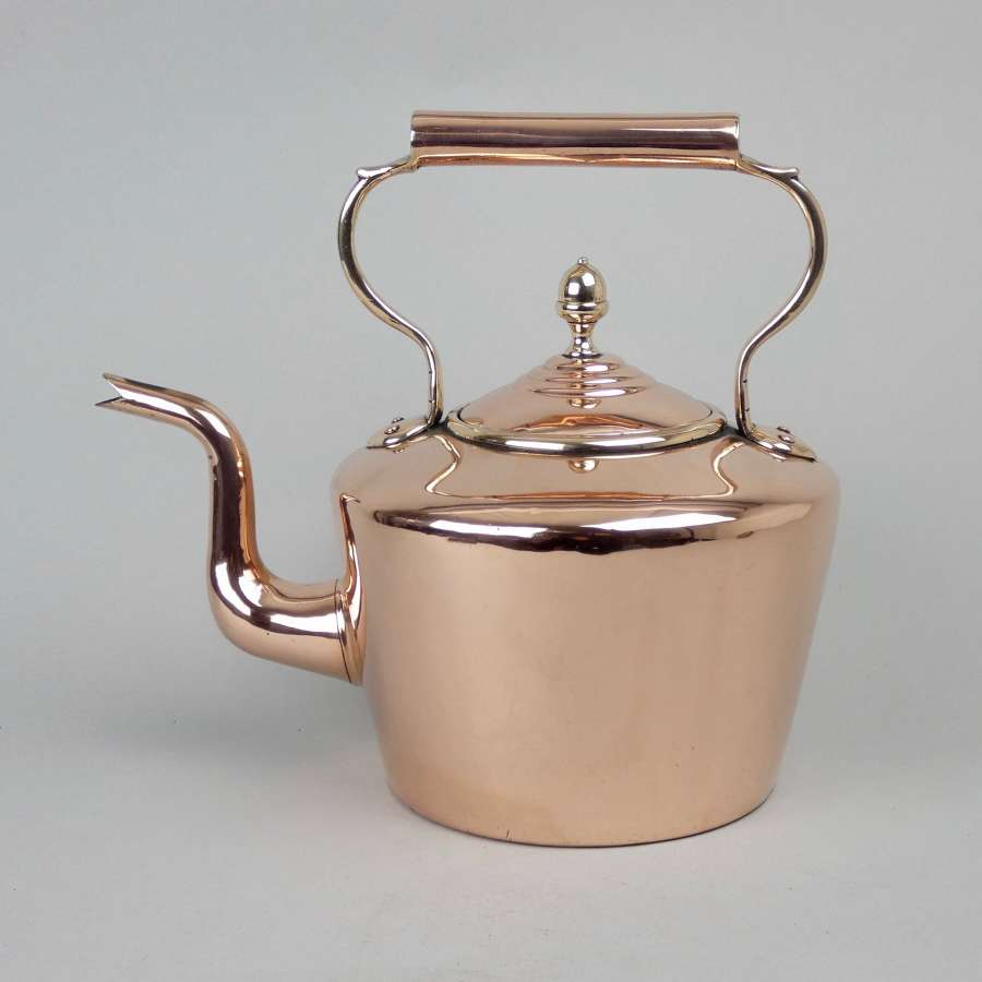 Good, Victorian copper kettle