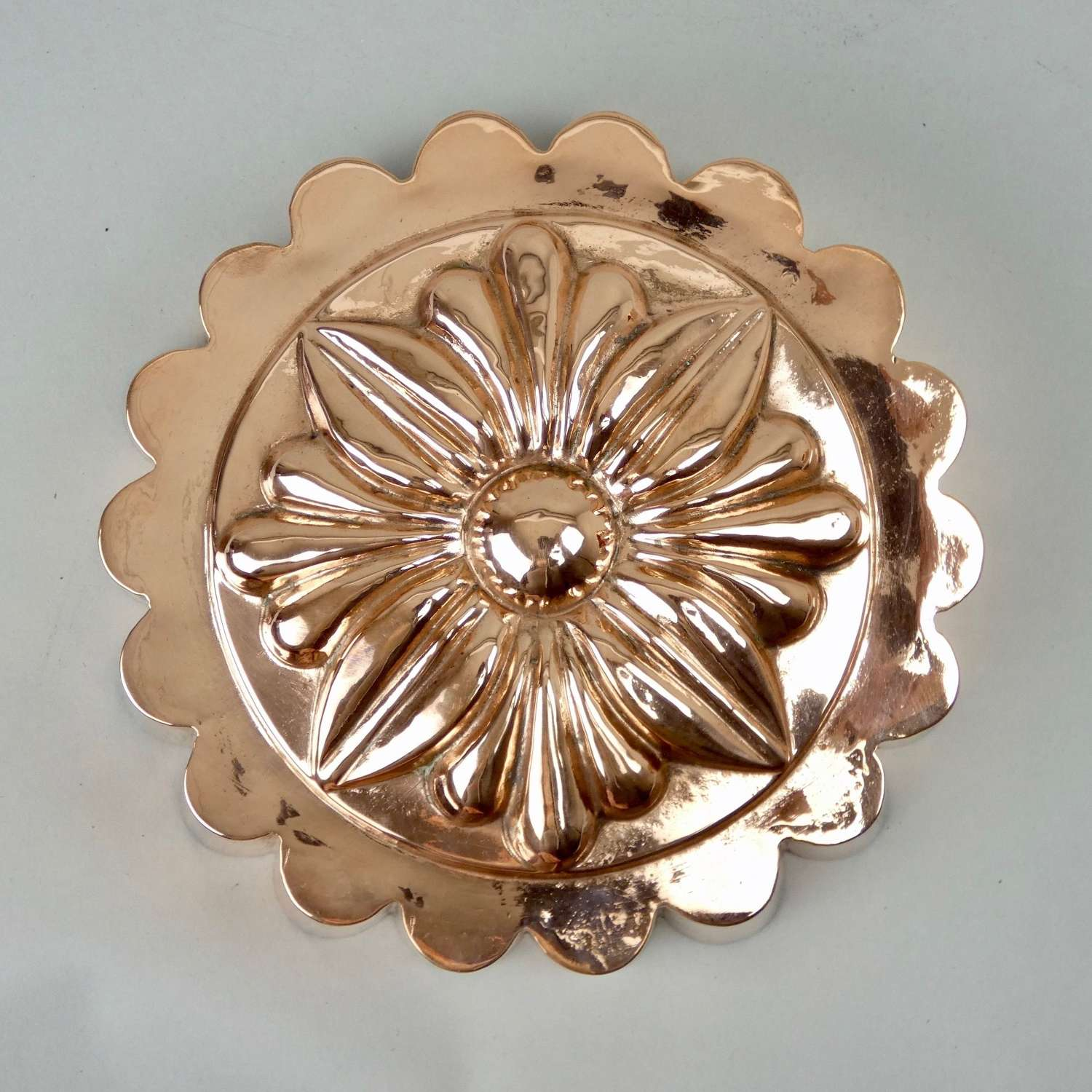 Fabulous 'sunflower' copper mould