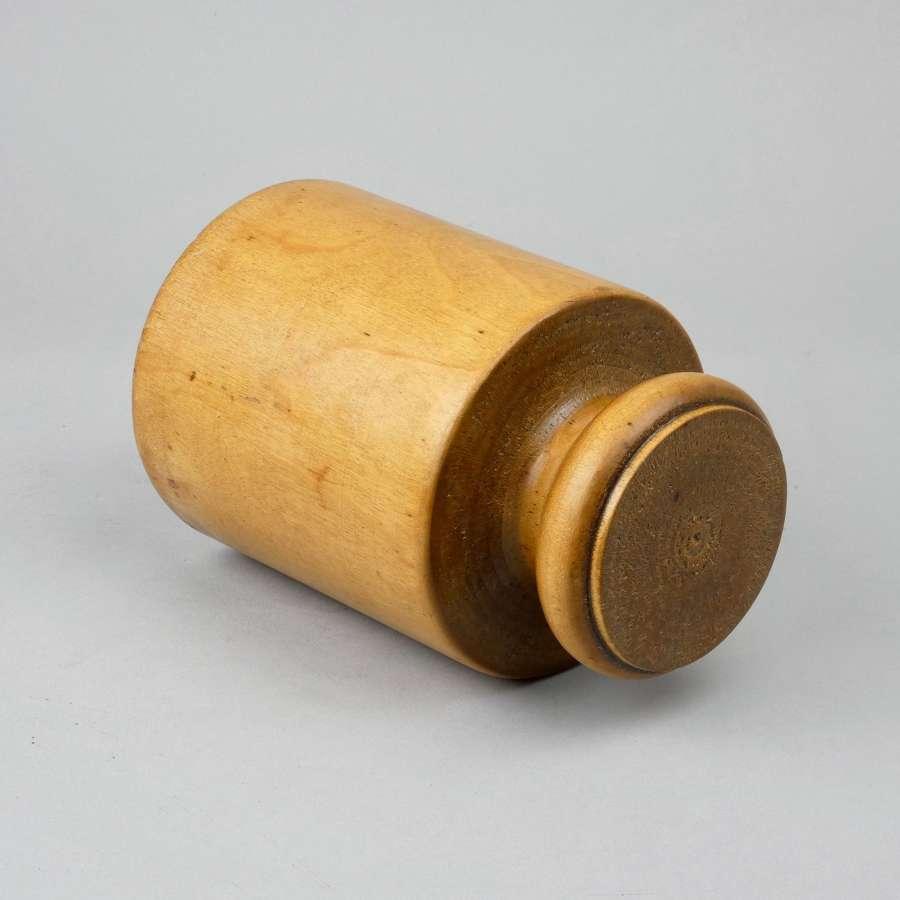 1920's wooden pie mould