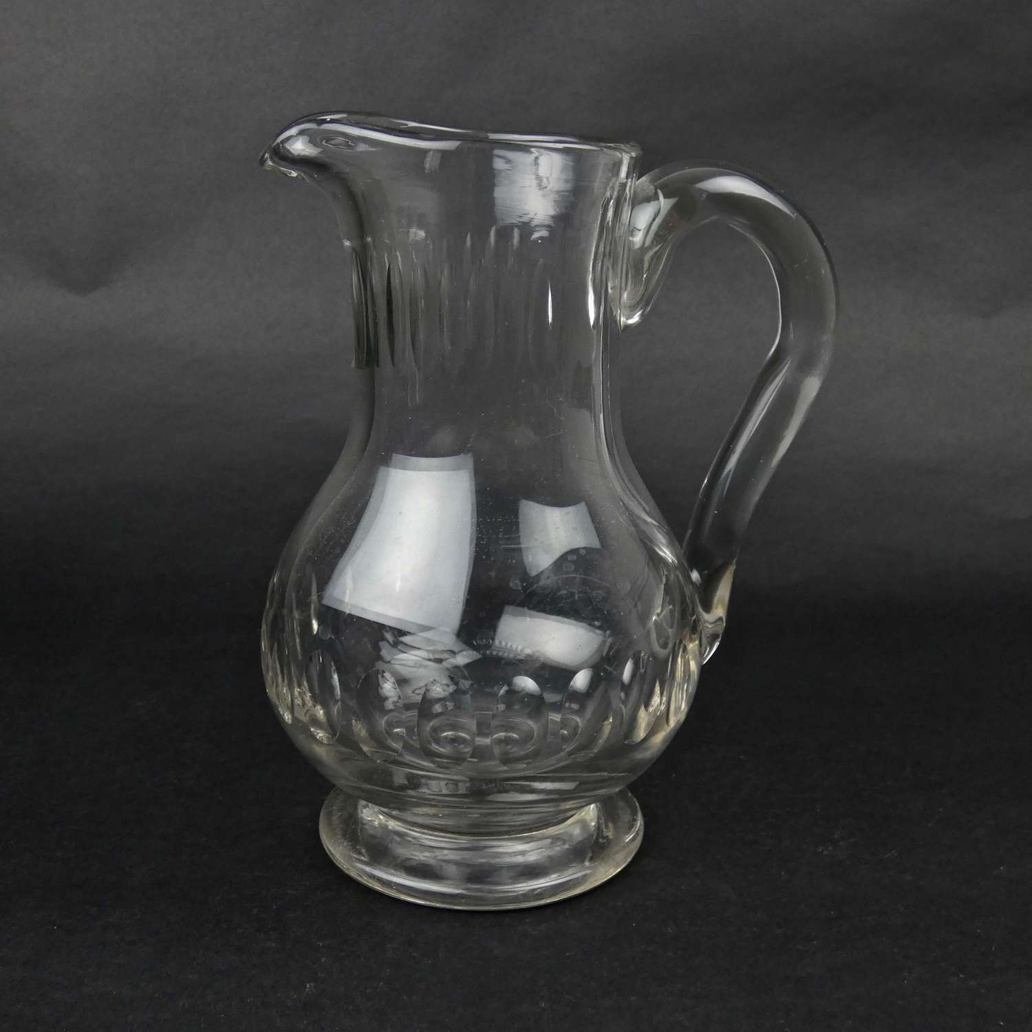 French crystal jug