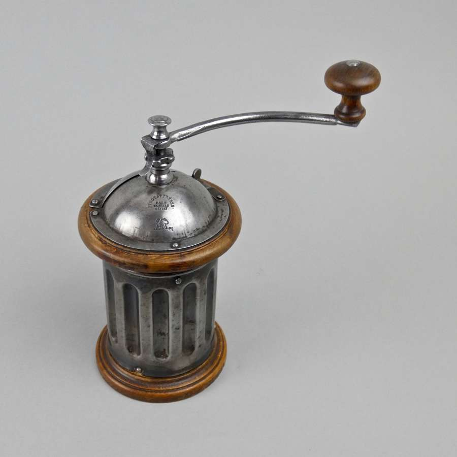 Peugeot tin coffee mill