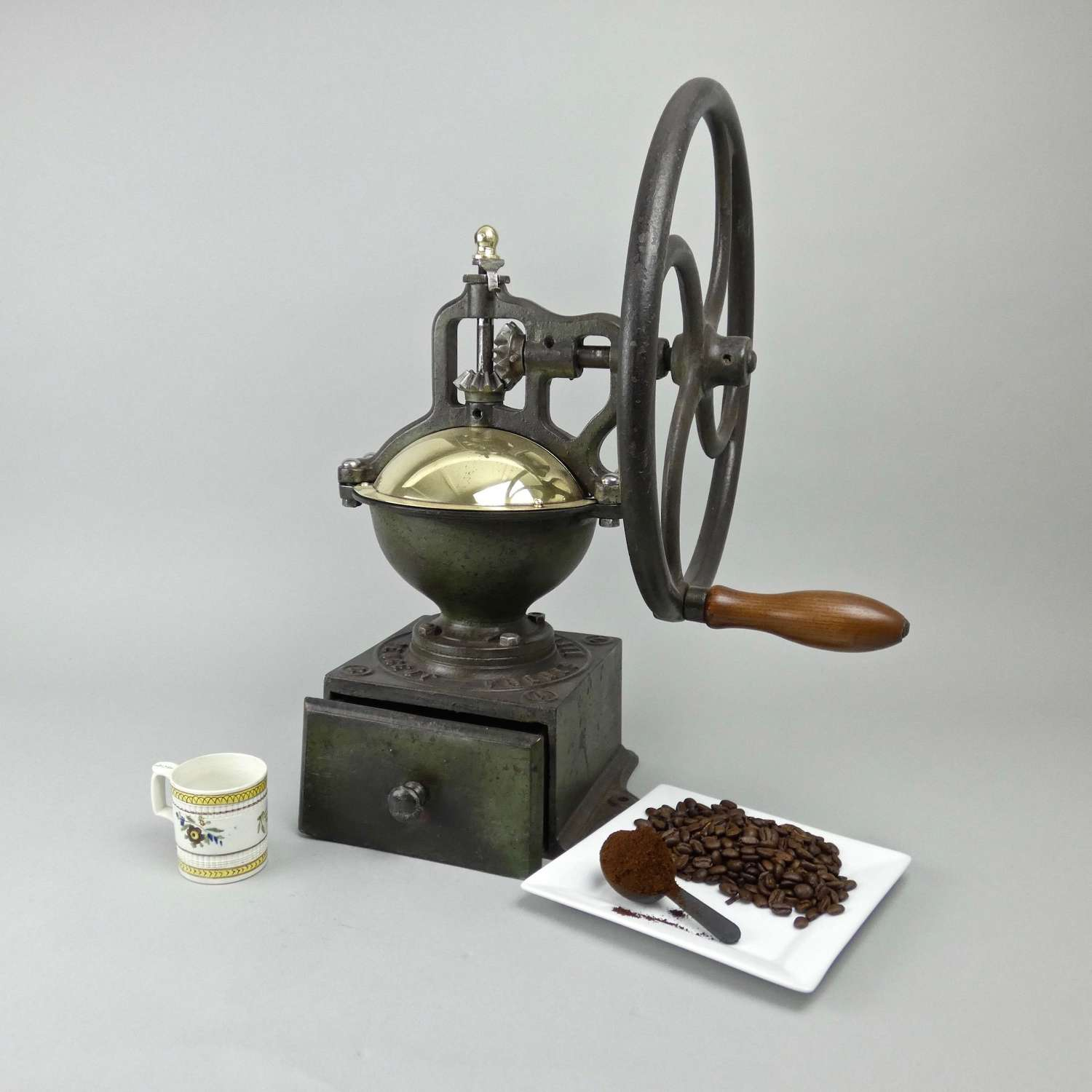 Large, Peugeot coffee mill