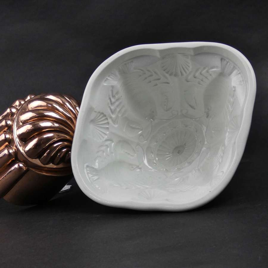 Wileman & Co. crayfish mould