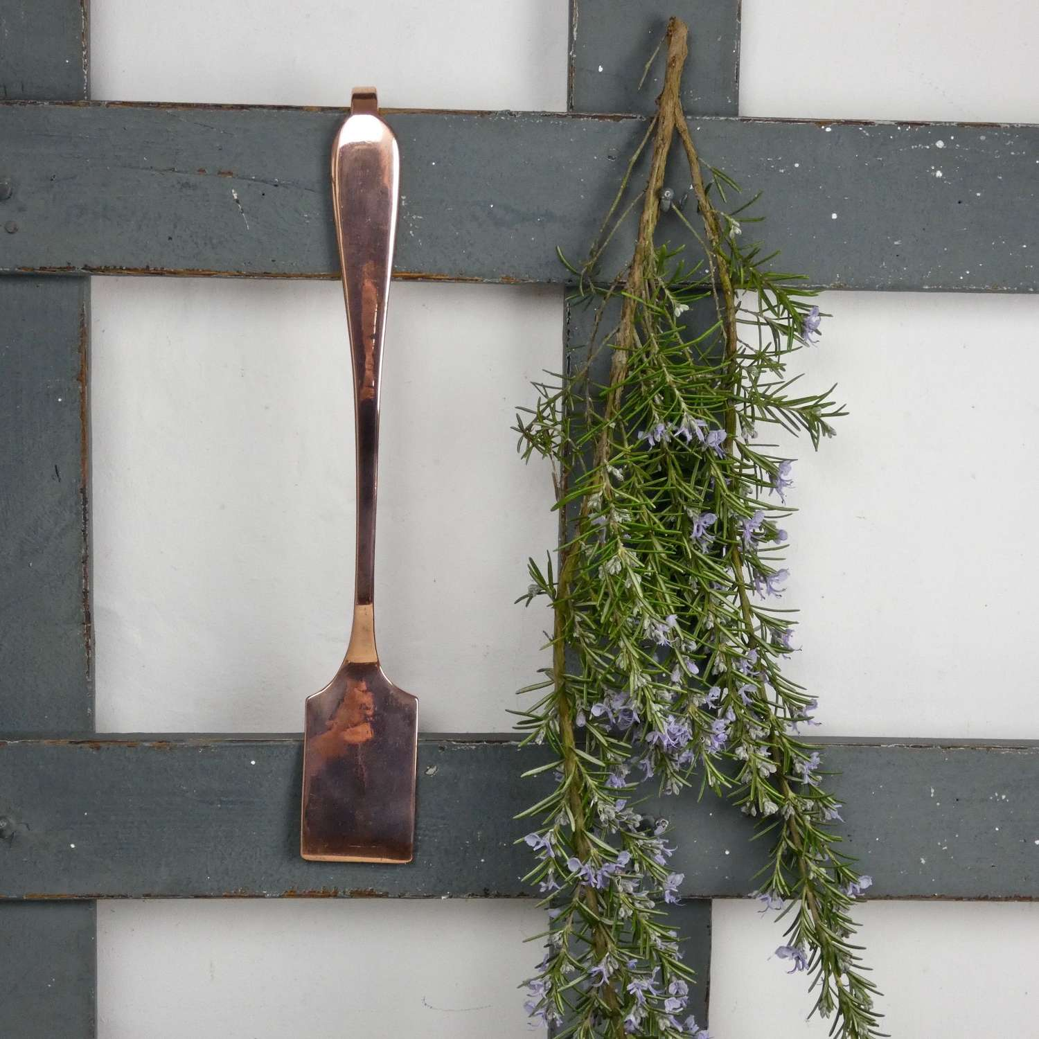 English copper spatula