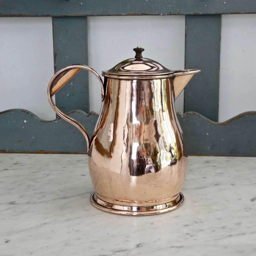 Copper hot water jug