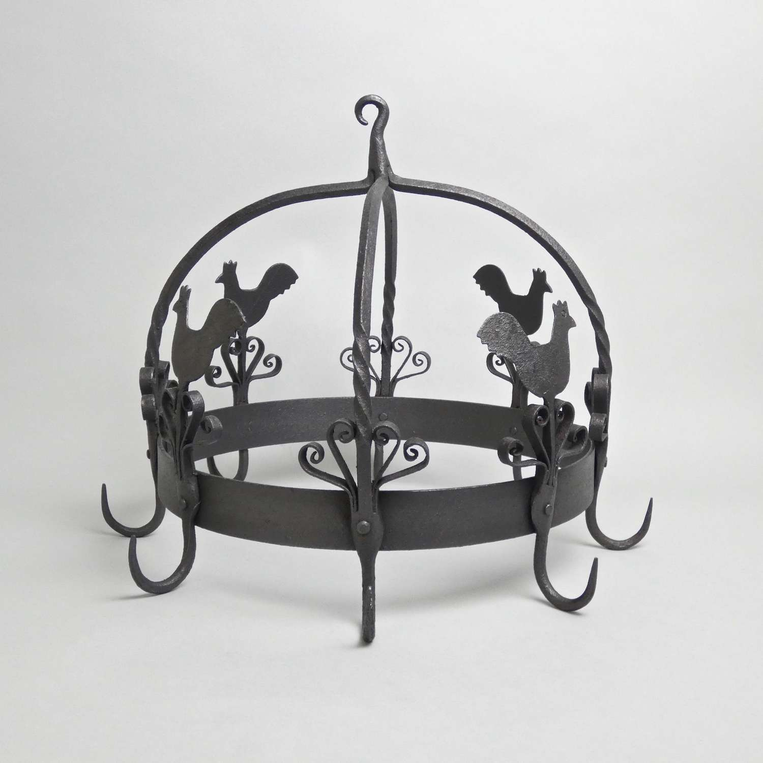 19th century, steel game hanger