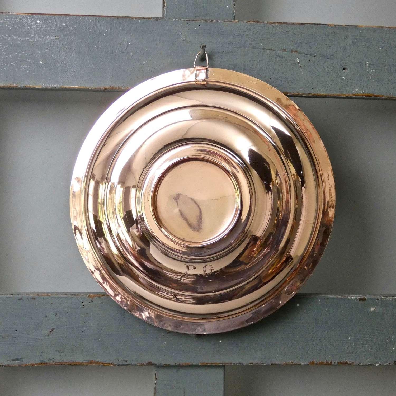 Engraved copper lid