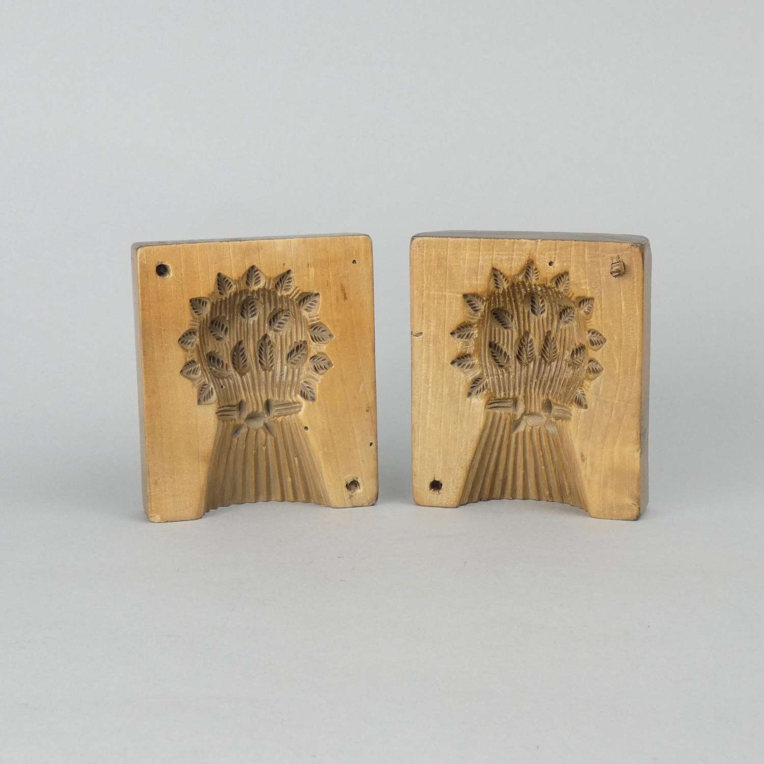 Early 19th century, wheat sheaf, butter mould