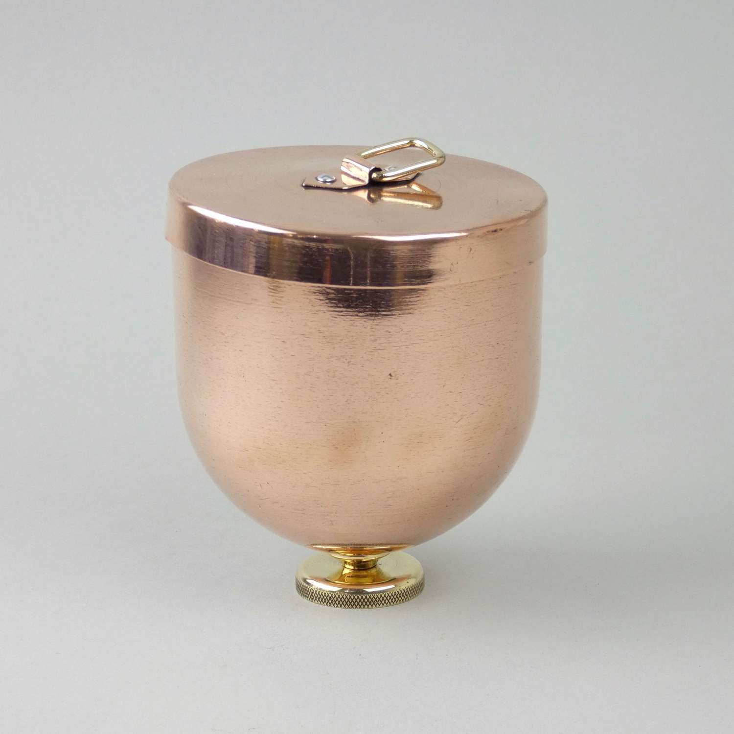 Copper, ice cream bombe mould