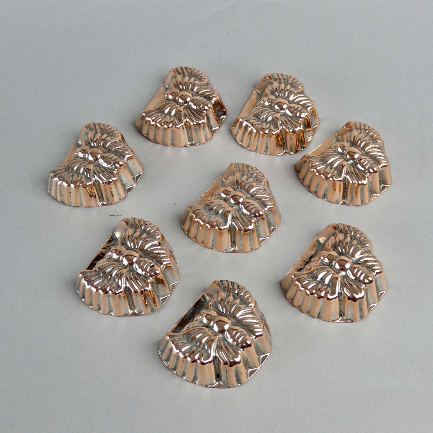 Miniature copper butterfly moulds