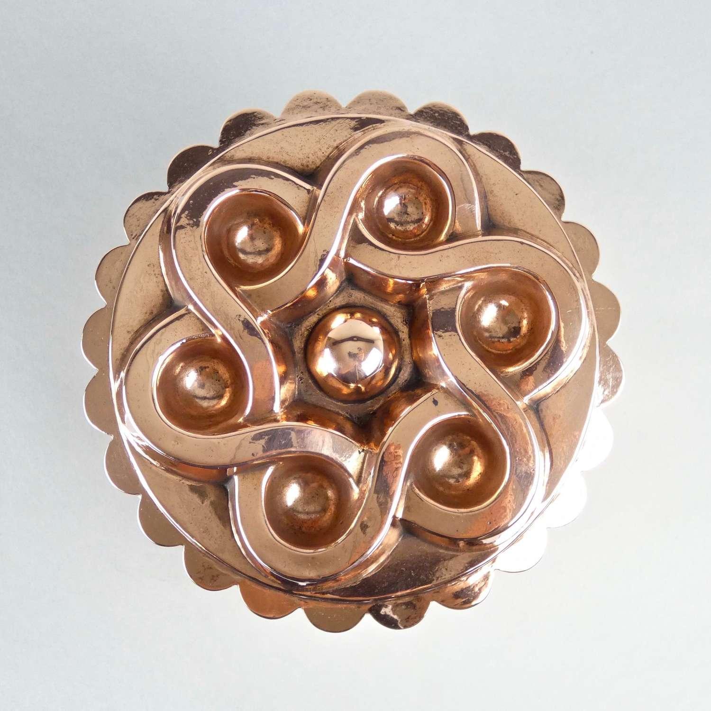 Celtic Knot design copper mould
