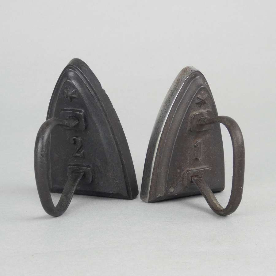 Size 2 flat iron