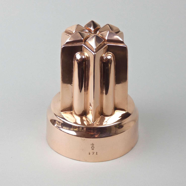 Tall, Benham's copper mould