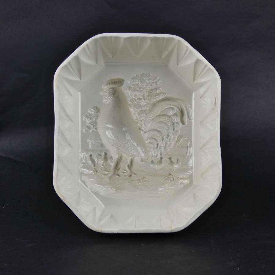 Wedgwood 'Cockerel in Farmyard' mould