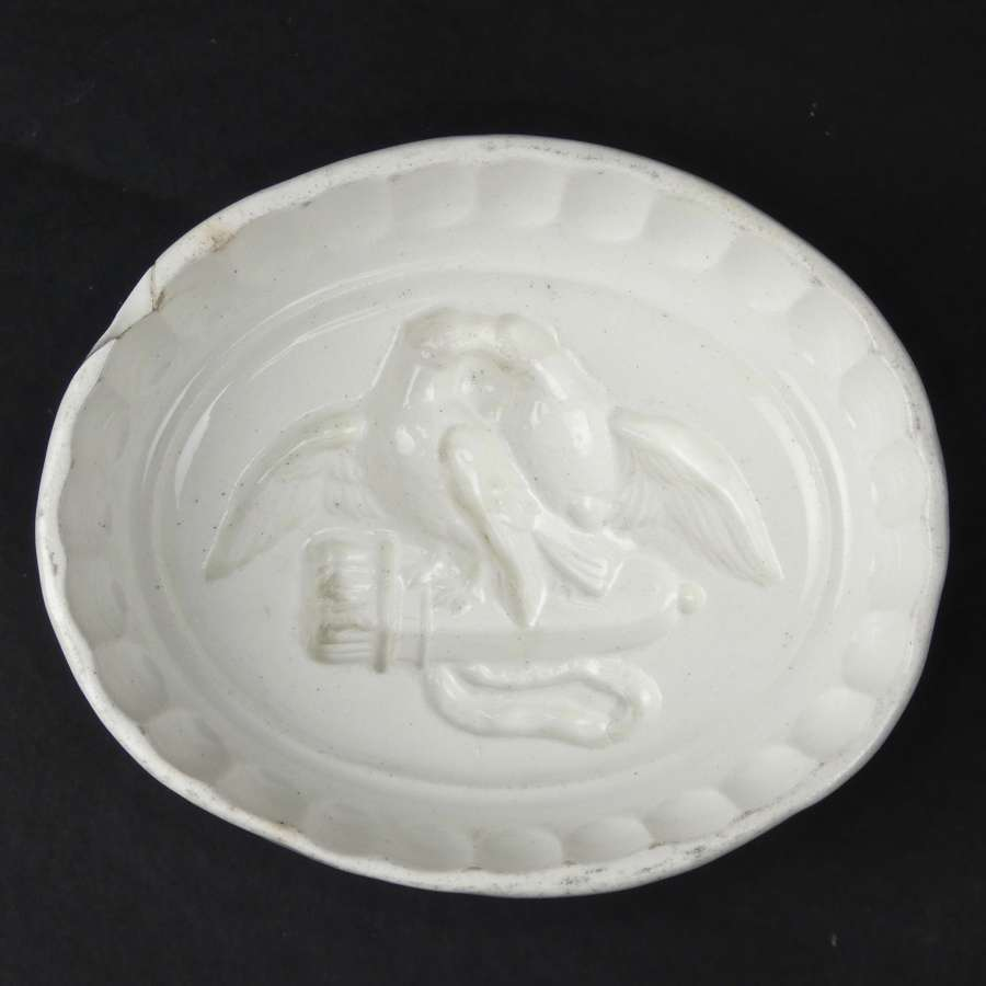 Wedgwood mould showing birds on a quiver