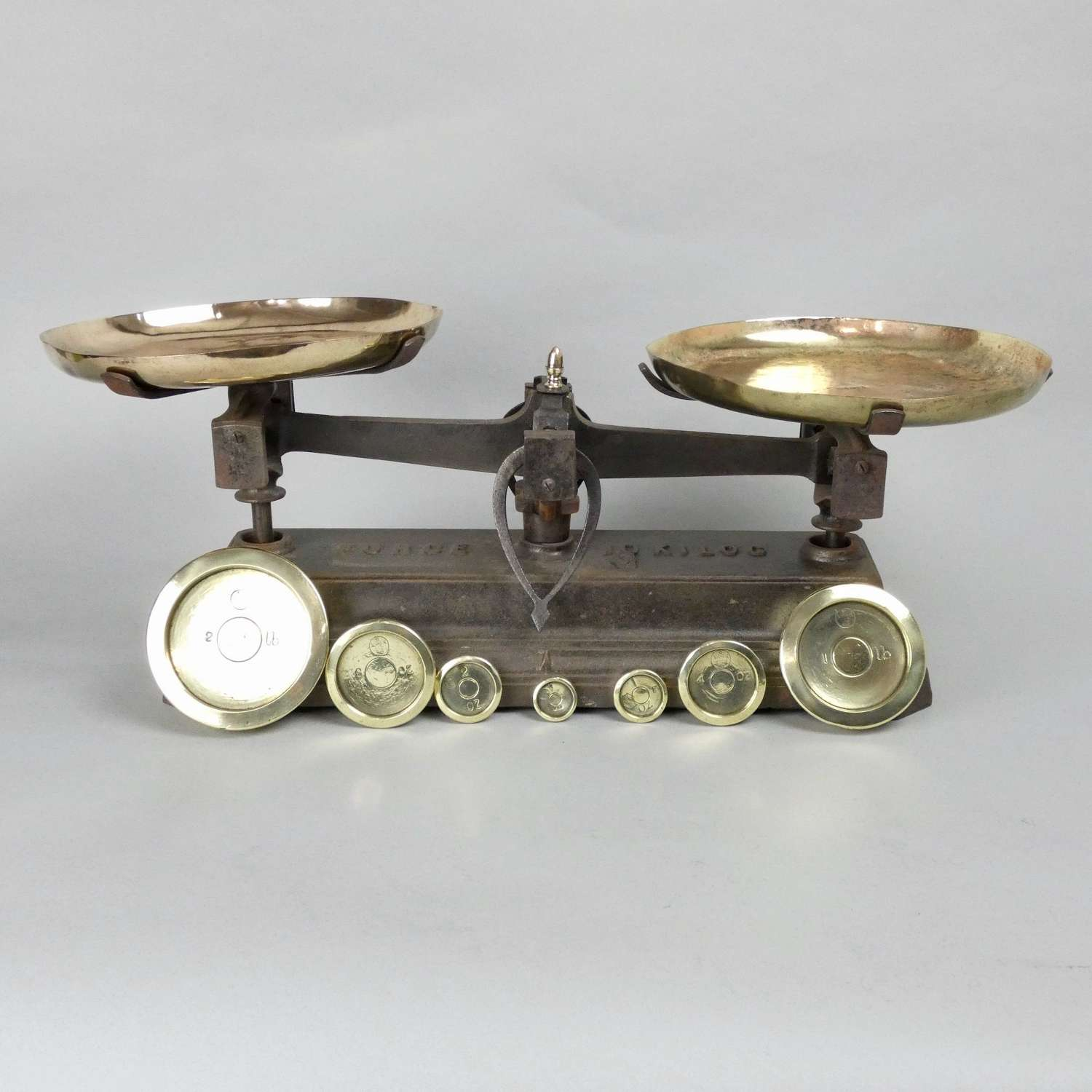 19th cent. Cast Iron Scales