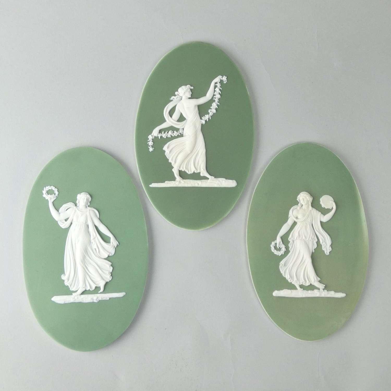 Set of Wedgwood plaques