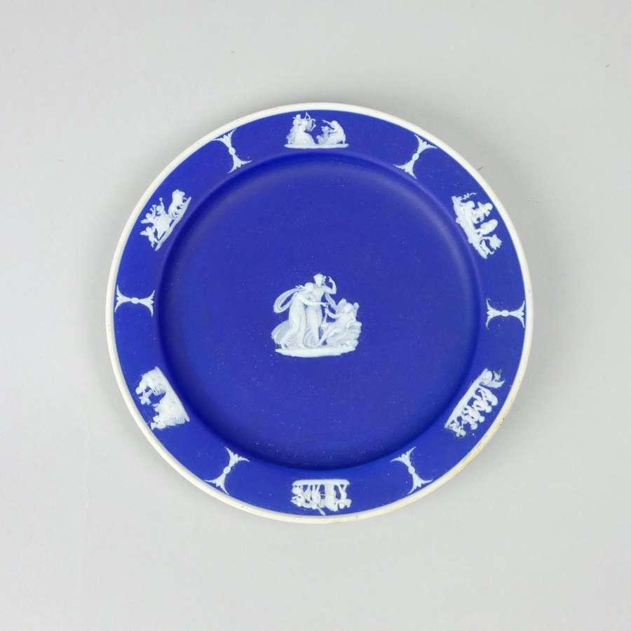 Wedgwood blue jasper plate