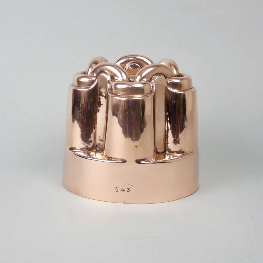 'Chain Link' copper mould