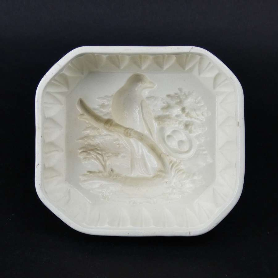Wedgwood mould with bird & nest