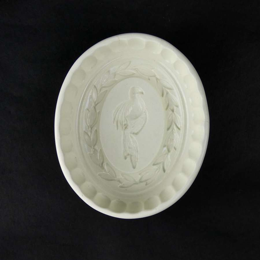 Wedgwood 'Bird & laurel wreath' mould