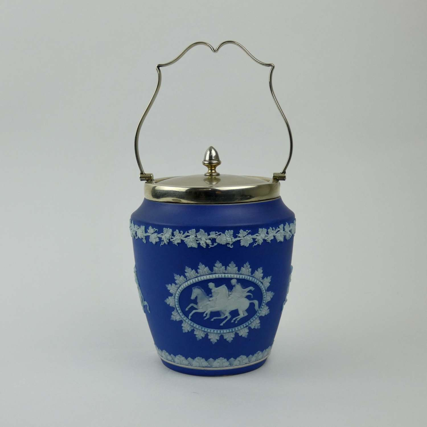 Unusual, Wedgwood biscuit barrel