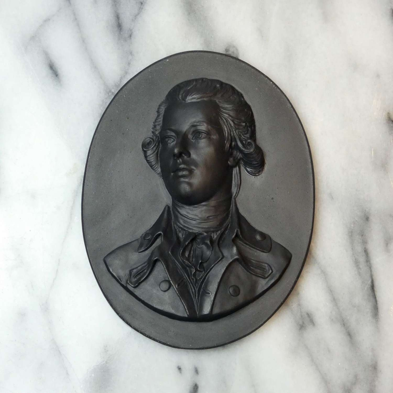 Portrait medallion of William Pitt