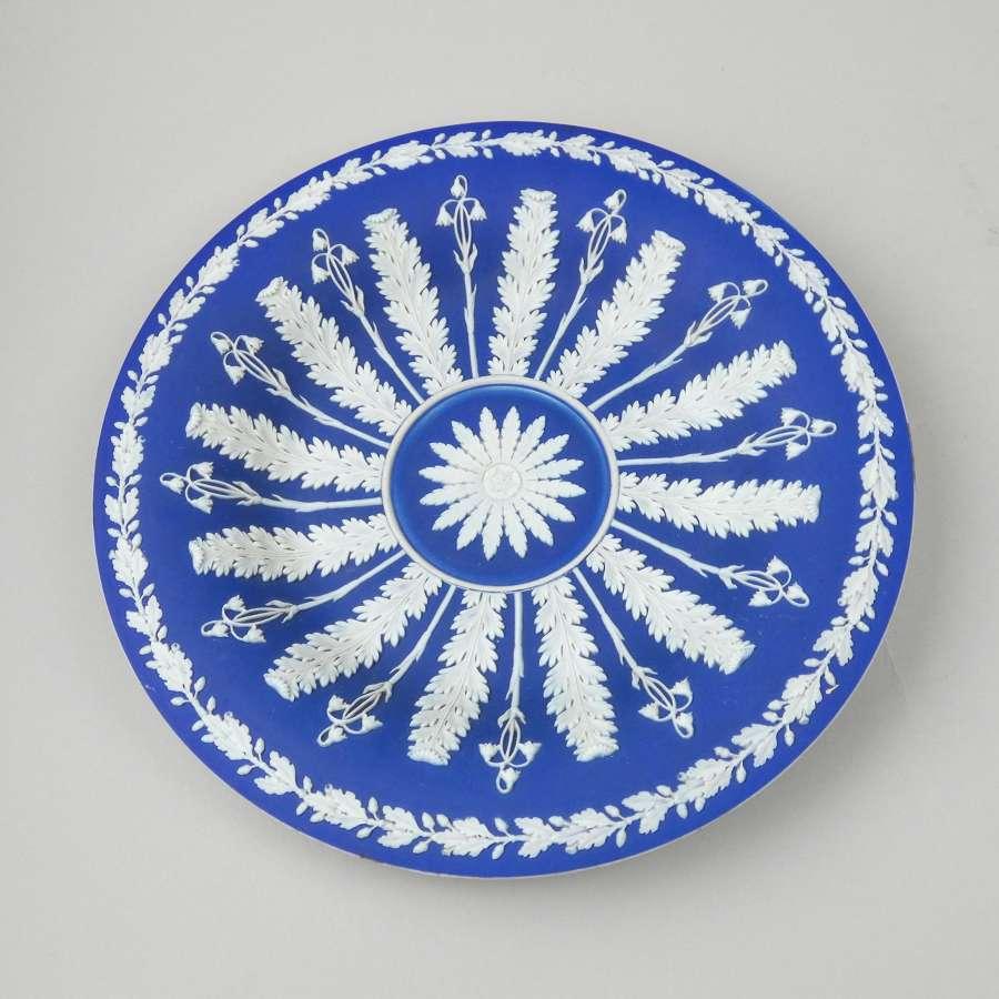 Blue jasper cabinet plate