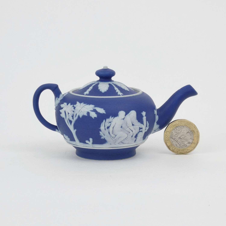 Miniature Wedgwood teapot