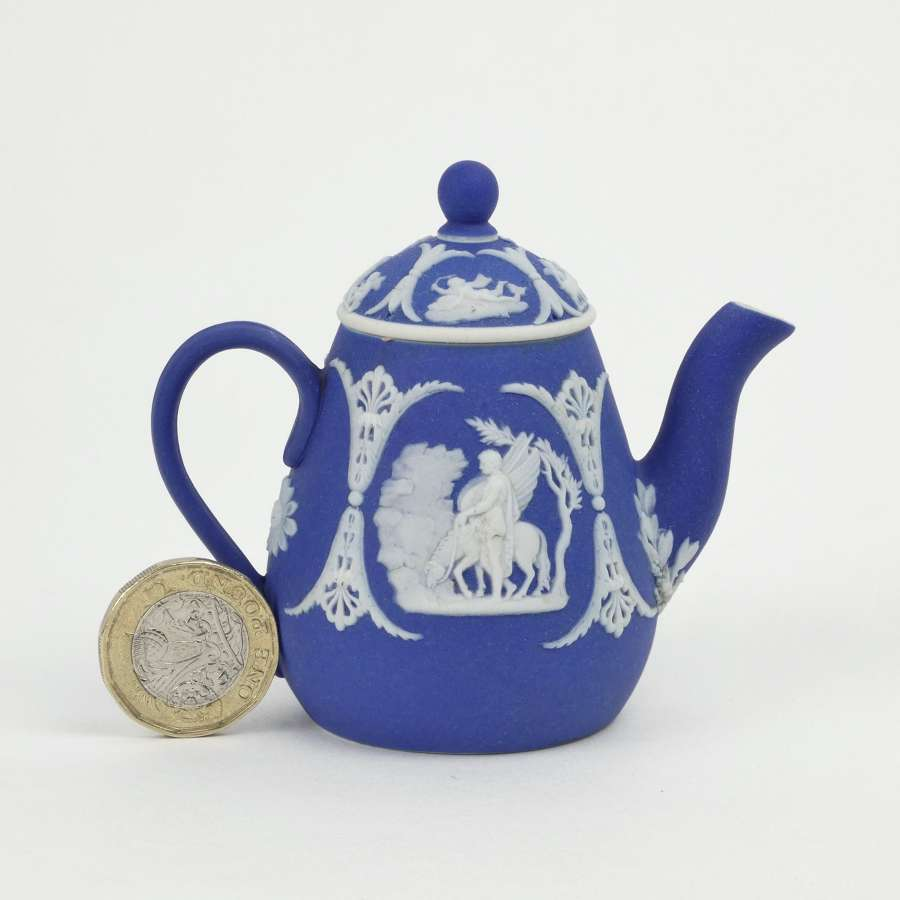 Miniature Wedgwood coffeepot