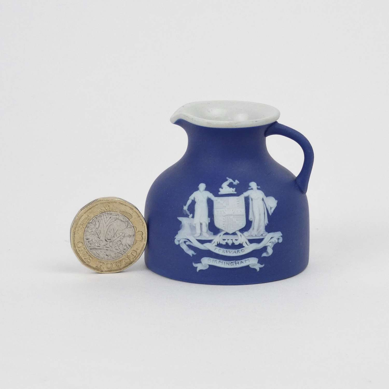 Miniature, armorial jug