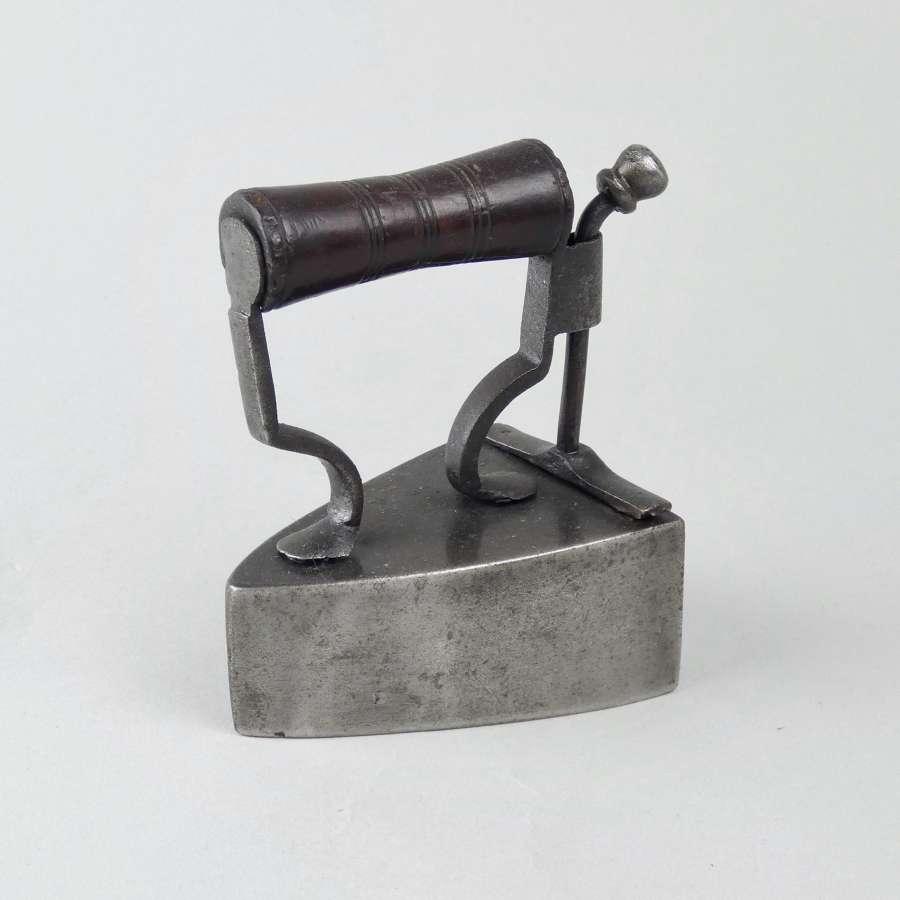 Small box iron by 'J BATES'