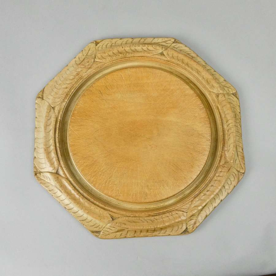 Octagonal sycamore breadboard