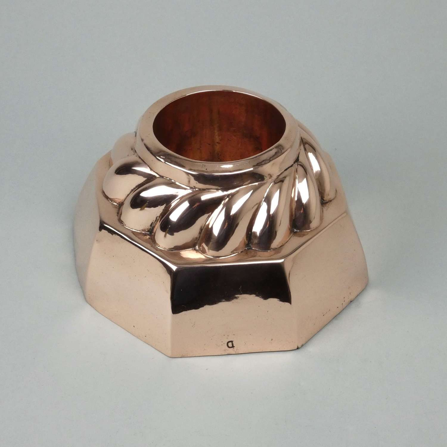 Unusual copper ring mould