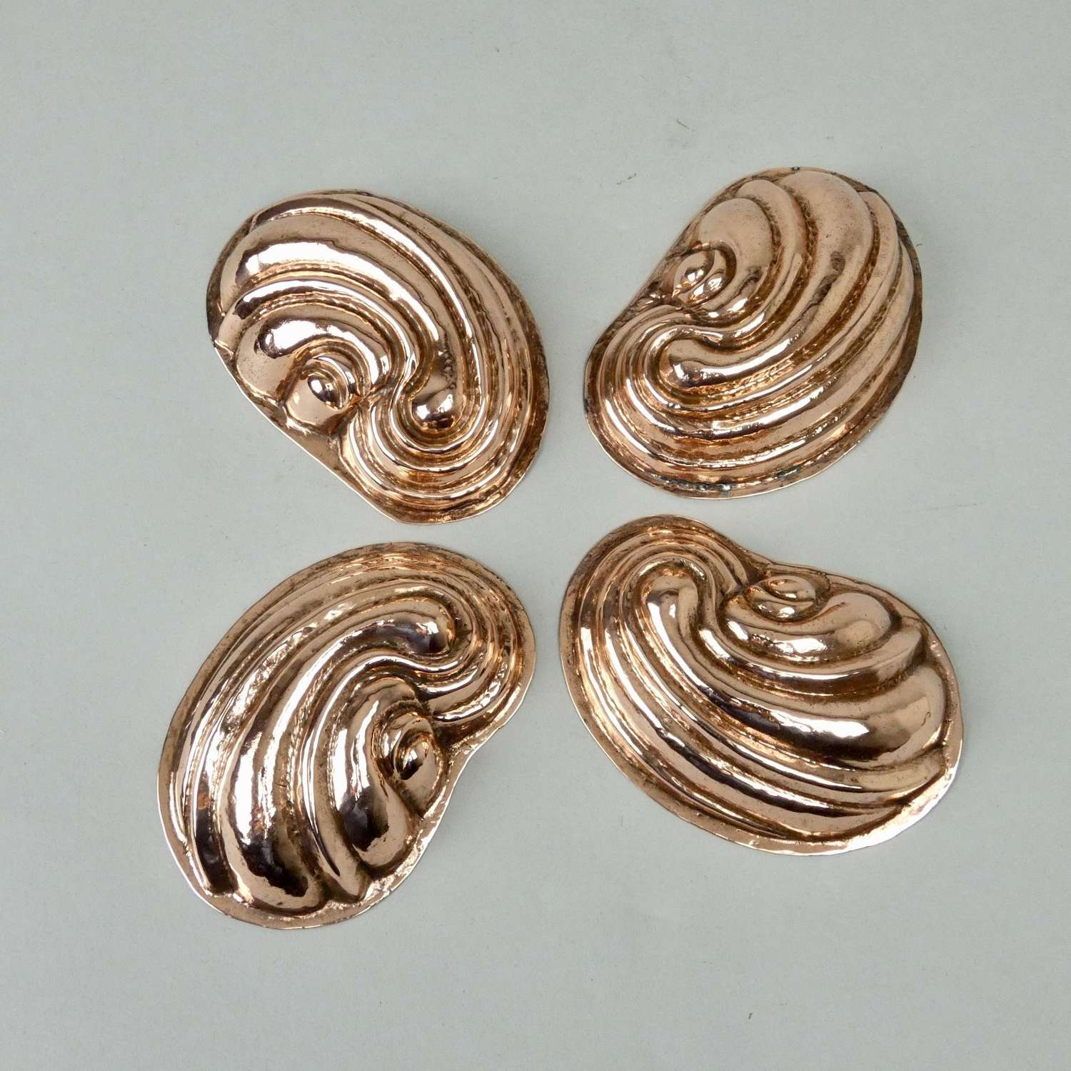 Small copper shell moulds
