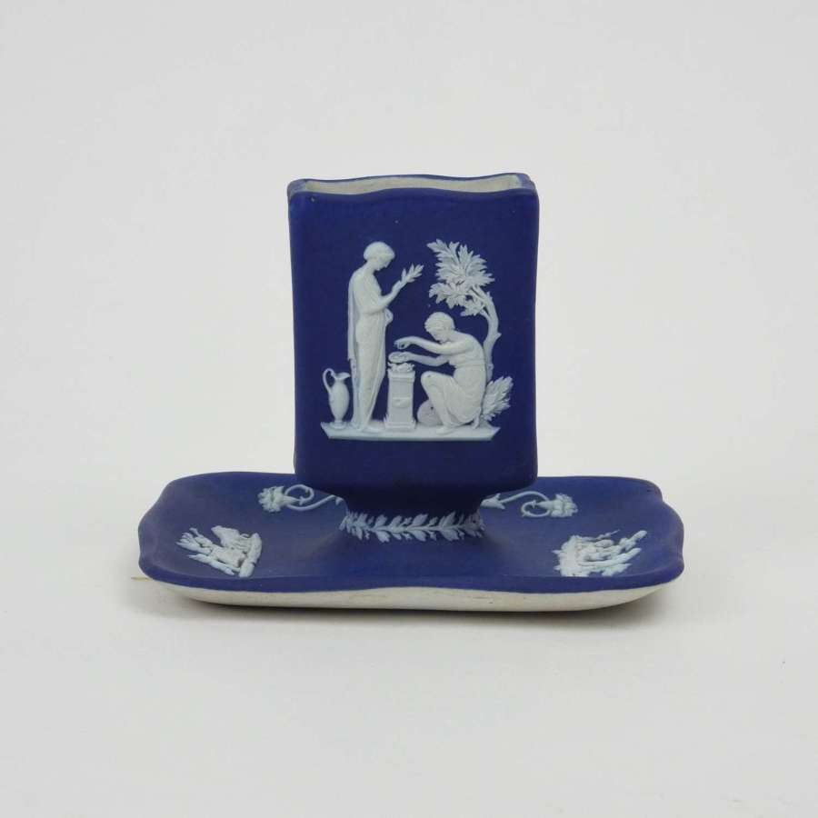 Wedgwood matchbox holder