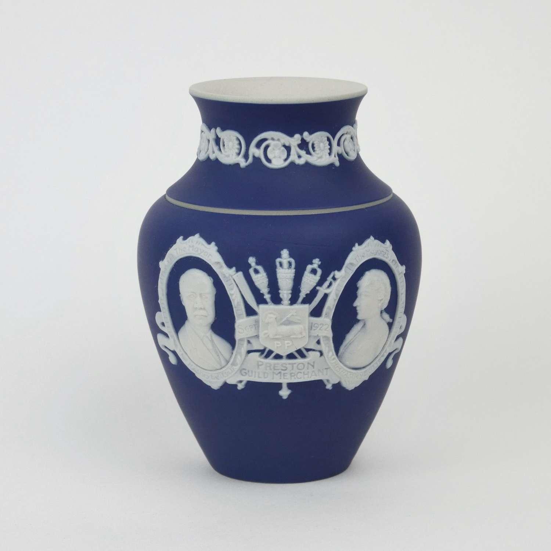 Adams, jasperware vase