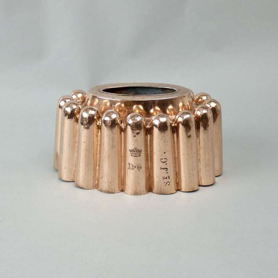 Oval copper ring mould