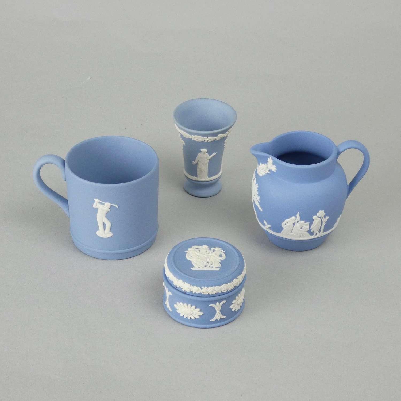 Wedgwood miniature jasper items