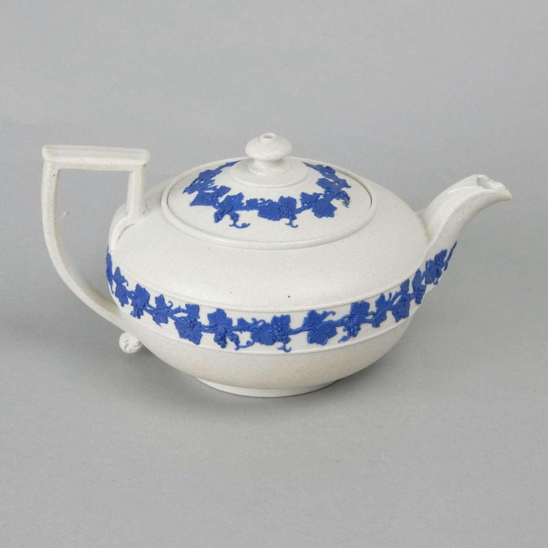Wedgwood, smear glazed, stoneware teapot