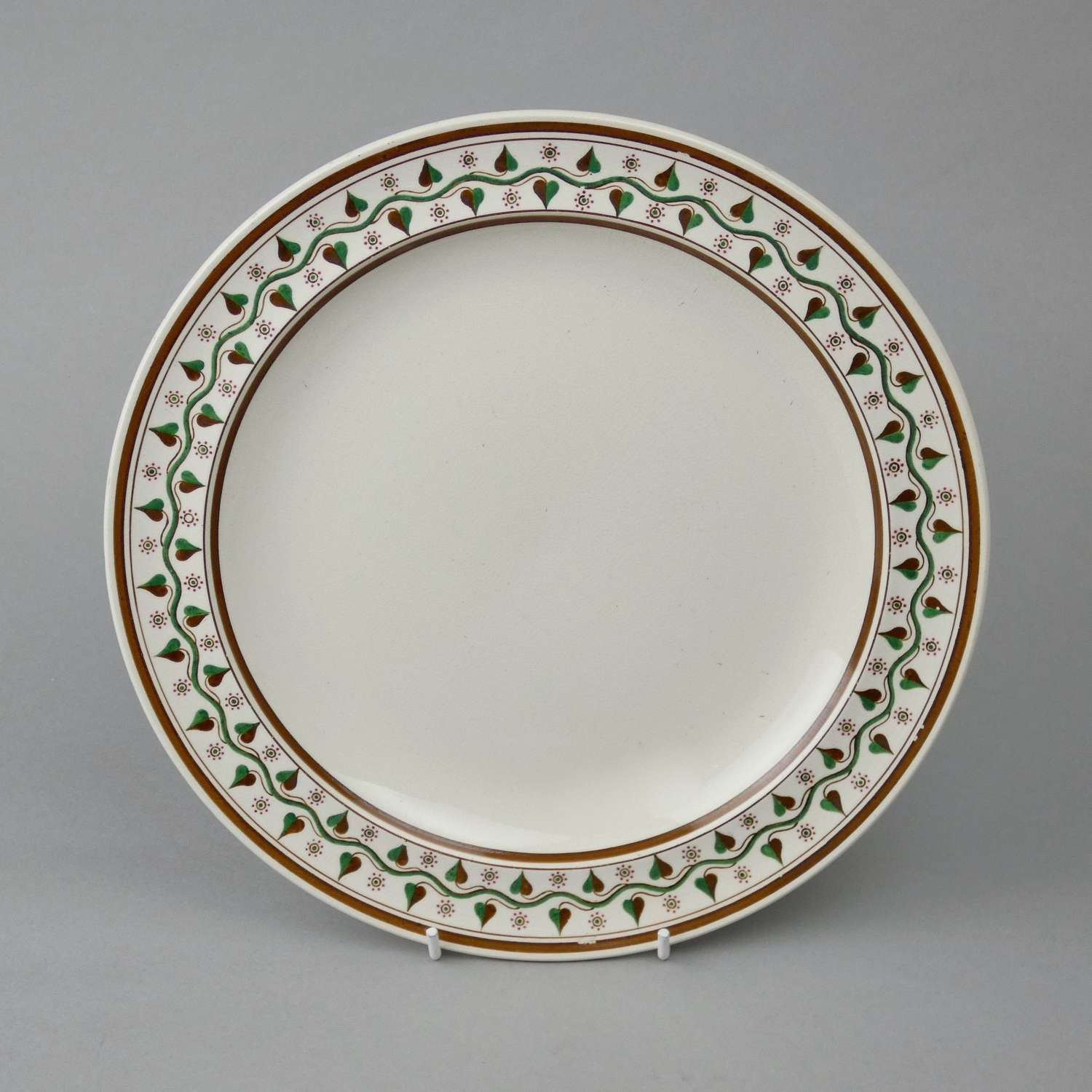 Wedgwood plate with painted border